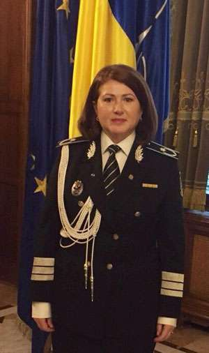 Şeful Inspectoratului de Poliţie al Judeţului Maramureş, Viorica Marincaş, prima femeie chestor din Inspectoratul General al Poliţiei Române