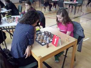 Eleva Cîmpean Andra a obținut locul II pe țară la Olimpiada Naţională a Sportului Şcolar la Șah 2015