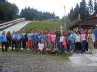Elevi din 28 de județe și din Ucraina, în vizită la jandarmii din Cavnic