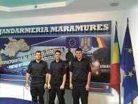 Elevi din Fălticeni în stagiul de practică la Jandarmeria Maramureş