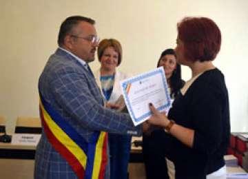 Elevii sigheteni, premiați de Primăria Sighet pentru EXCELENȚĂ