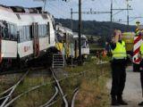 Elveția: 17 răniți în coliziunea dintre un tren și un autocar cu turiști