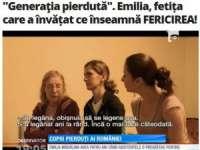 Emilia, fetiţa care a scăpat din Orfelinatul Groazei de la Sighetu Marmaţiei