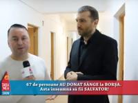 EMISIUNE TV: Vasile Vlașin continuă CAMPANIA de DONARE de SÂNGE în județul Maramureș