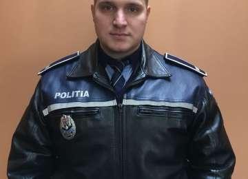 EROU - Un poliţist din Baia Sprie a salvat viaţa unui OM