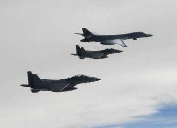 Exercițiu aerian de o amploare fără precedent, lansat de SUA și Coreea de Sud