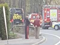 Explozii în apropierea autocarului echipei de fotbal Borussia Dortmund! Un jucător rănit