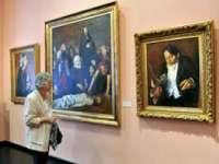 """Expoziția """"Corneliu Baba - Desemnurile unui pictor"""" a fost deschisă la Muzeul Colecțiilor de Artă"""