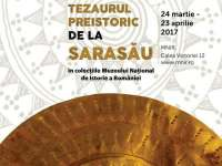 EXPOZIȚIE – Podoabe din tezaurul de la Sarasău expuse la Muzeul Naţional de Istorie a României