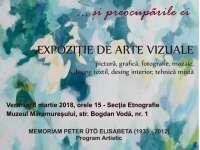 Expoziției de arte vizuale - Femeia contemporană...și preocupările ei