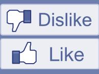 Facebook a lansat opţiunea de dislike