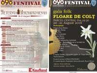 """Festival de muzică și artă medievală & folk - """"690 de ani de la prima atestare scrisă a orașului SIGHET"""""""