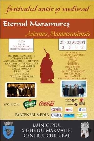 Festivalul Antic şi Medieval Aeternus Maramorosiensis 2015 - Lupte cavalereşti şi concerte la Sighet