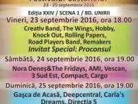 FESTIVALUL CASTANELOR 2016 - Cine va urca pe scenă sâmbătă, 24 septembrie