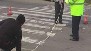 Fetiţă accidentată la Sighet pe trecerea pentru pietoni de către o autoutilitară