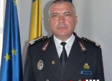 FINAL DE CARIERĂ - Colonel Mureșan Ioan Daniel, fostul inspector șef al ISU Maramureș, s-a pensionat