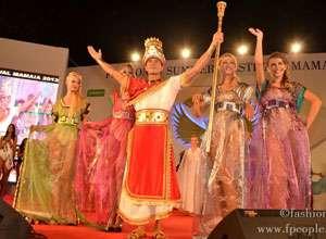 Final de carnaval în staţiunea Mamaia cu Radu Mazăre în rolul sultanului Suleyman Magnificul