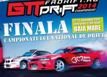 Finala Campionatului Naţional de Drift se va desfăşura la Baia Mare