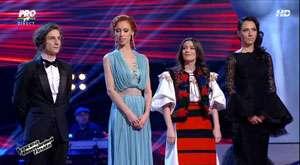 """Finala """"Vocea României"""" a fost câștigată de către Tiberiu Albu. Maria Hojda a încheiat concursul pe locul III"""