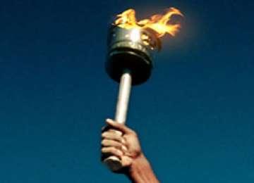Flacăra olimpică a ajuns la Polul Nord