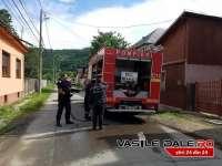 FOC LA SIGHET - Incendiu la o anexă de pe strada Izei