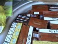 Focuri de armă și 7.300 pachete de ţigări de contrabandă confiscate la frontiera de nord