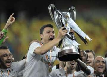 Fotbal - Astra Giurgiu a cucerit în premieră Supercupa României, cu scorul de 5-3 cu Steaua, la loviturile de departajare