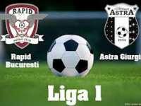 Fotbal: Astra Giurgiu - Rapid 3-2