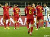 Fotbal - Preliminariile EURO 2016: Finlanda a pierdut în faăța României cu 0 la 2