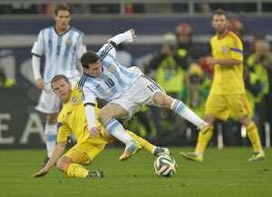 FOTBAL: România - Argentina 0-0, într-un amical de lux