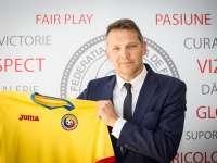 Fotbal: Rudi Verkempinck (secund România) - Trebuie să atacăm inteligent, suntem responsabili pentru 22 de milioane de oameni