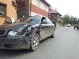 FOTO ACCIDENT: Audi vs Audi - Rezultatul? Ambele mașini avariate