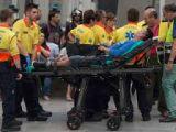 FOTO: Accident feroviar în Barcelona - Un cetățean român printre victime