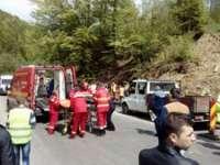 FOTO: Accident grav în Pasul Gutâi