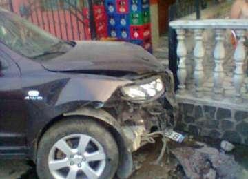 FOTO - Accident la Vișeu de Sus