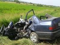FOTO: Accident mortal în Maramureș. Un bărbat și-a pierdut viața