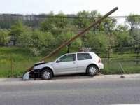 FOTO: Accident pe DN 18, în Leordina