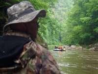 FOTO: Adrenalină într-un decor de vis - Rafting în Defileul Lăpuşului