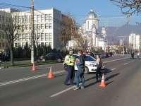 FOTO: Ameninţare cu bombă la Tribunalul Maramureş. A fost evacuat inclusiv platoul din faţa clădirii