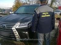 FOTO - Autoturism Lexus în valoare de 160.000 euro, căutat în Rusia și depistat la Petea