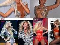 FOTO: Beyonce, acuzată de o vedetă pop din Serbia că i-ar fi copiat stilul vestimentar