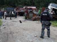 FOTO - BORȘA, MOISEI și BOTIZA - Descinderi la persoane bănuite de comiterea de infracțiuni silvice