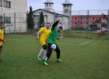 FOTO: Campionat de minifotbal inter-instituţional organizat de jandarmii maramureşeni