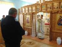 FOTO: CEREMONIAL MILITAR - Patronii spirituali ai Jandarmeriei Române Arhanghelii Mihail şi Gavriil