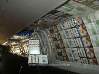 FOTO - Cetățean ucrainean depistat cu 7.500 pachete țigări de contrabandă la Sighet