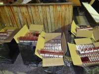 FOTO: CONTRABANDĂ cu ȚIGĂRI - 7.500 pachete cu ţigări confiscate la frontieră