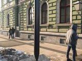 FOTO - Cuiul în care se agață harta, un nou monument în Sighet
