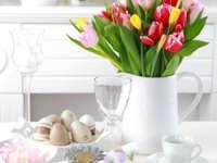 FOTO: Cum să decorăm casa şi masa de Paşte