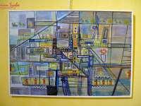 """FOTO - """"Dialogul artelor"""", expoziție de pictură a artistului plastic Ioan Muntean"""