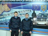 FOTO: Elevi în stagiul de practică la Jandarmeria Maramureş